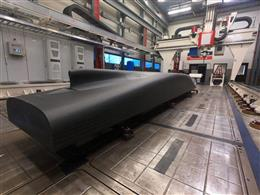 A 6MT ship model 3D printed by INGERSOLL for SINTEF