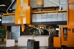 Macchina installed in Belleli, Mantua