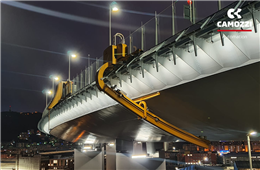 The creation process of the robots for the New Bridge in Genoa