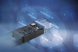 New Series D1, Valve island with CoilVision® technology